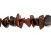 """Semi-precious Chips 2X8""""strand Mahogony Obsidian"""